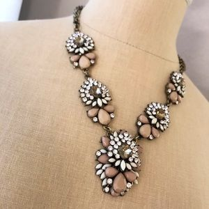 Jewelry - Antique bronzed gold statement necklace